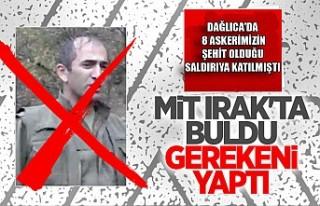 Dağlıca Saldırısına Katılan Terörist Özcan...