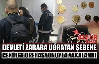 Devleti Zarara Uğratan Şebeke Çekirge Operasyonuyla...