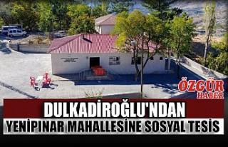 Dulkadiroğlu'ndan Yenipınar Mahallesine Sosyal...