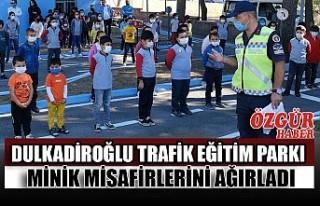 Dulkadiroğlu Trafik Eğitim Parkı Minik Misafirlerini...