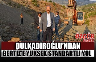 Dulkadiroğlu'ndan Bertiz'e Yüksek Standartlı...