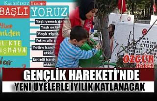 Gençlik Hareketi'nde Yeni Üyelerle İyilik Katlanacak