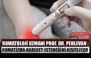 Romatoloji Uzmanı Prof. Dr. Pehlevan ; Romatizma...