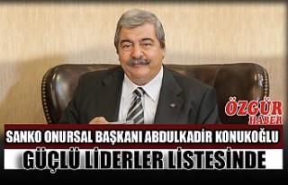 SANKO Onursal Başkanı Abdulkadir Konukoğlu Güçlü...