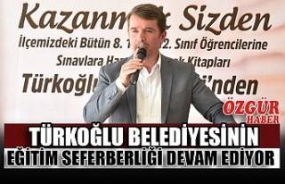 Türkoğlu Belediyesinin Eğitim Seferberliği Devam...