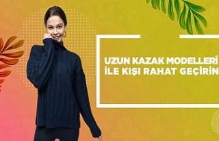 Uzun Kazak Modelleri ile Kışı Rahat Geçirin