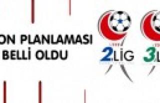 2. Lig Ve 3. Lig Sezon Planı Açıklandı