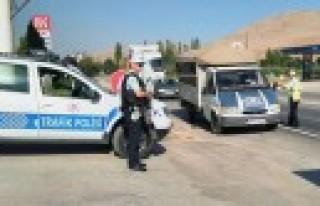 434 Sürücüye 114 Bin Lira Para Cezası