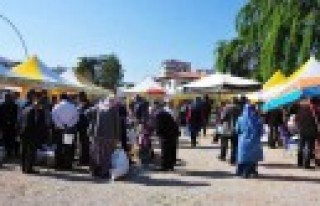 Afşin Belediyesi Geçici Köy Pazarı Kurdu