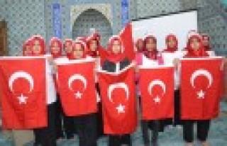 Afşin ve Andırın'da Öğrenciler 15 Temmuz Şehitlerini...