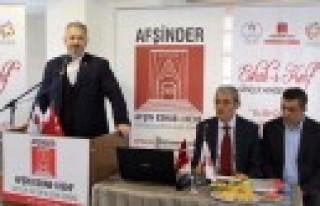 AFŞİNDER'de  Ahmet Ardıç Güven Tazeledi