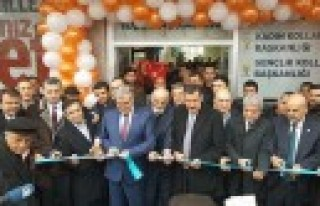 Ak Parti Dulkadiroğlu İlçe Binası Açılışı...
