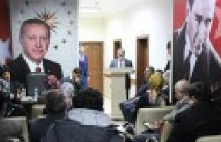 AK Parti Ekinözü İlçe Danışma Toplantısı Düzenlendi