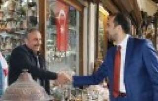 AK Parti İl Teşkilatı Referandum İçin Sahaya...