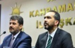 AK Parti İl'de Devir Teslim Töreni