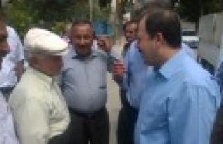AK Parti Seçim Gezilerine Çağlayancerit'te Devam...