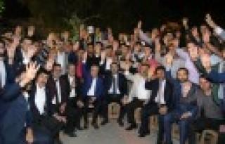 AK Parti Sözcüsü Ünal Afşin'de