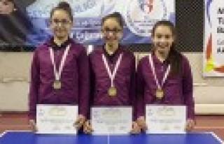 Analig Masa Tenisinde Yıldız Kızlarımız Finalde