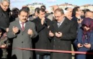 Atilla İmamoğlu Parkı Dualarla Açıldı