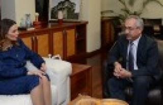 Azeri Vekil'den Rektör Deveci'ye Ziyaret