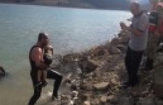 Baraj Gölüne Düşen Çocuk Hayatını Kaybetti