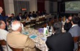 Başkan Aydın, STK Başkanları İle Biraraya Geldi