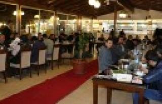 Başkan Bozdağ, Gazeteciler İle Bir Araya Geldi