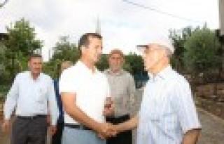 Başkan Bozdağ'dan, Sakarkaya Mahallesine Hizmet...