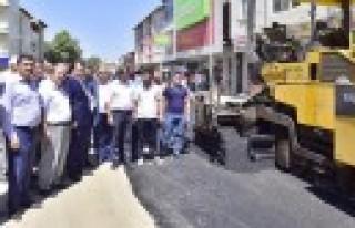 Başkan Erkoç, Afşin'de İncelemelerde Bulundu