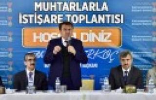 Başkan Erkoç, Dulkadiroğlu Muhtarlarıyla Biraraya...