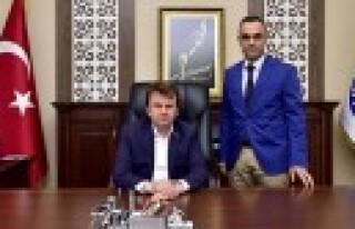 Başkan Erkoç KASKİ Genel Müdürlüğünü Ziyaret...