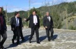 Başkan Erkoç Menzelet Mesire Alanında