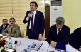Başkan Erkoç Muhtarlarla Biraraya Geldi