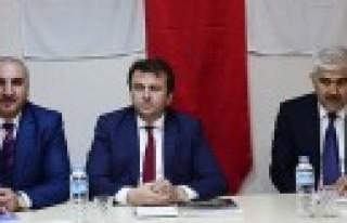 Başkan Erkoç'tan Hizmet-İş'e Ziyaret
