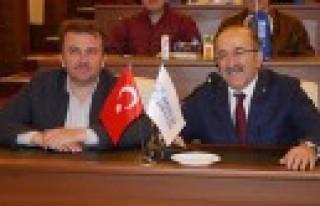 Başkan Erkoç'un Trabzon Ziyareti