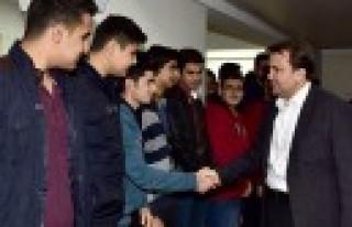 Başkan Erkoç'tan TÜGVA'ya Ziyaret