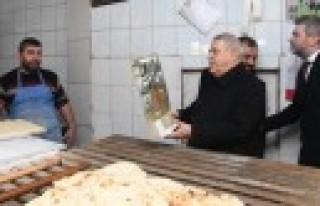 Başkan Mahçiçek'ten Esnaf Ziyareti
