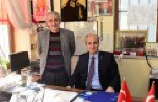 Başkan Okay, Fevzi Paşa'da Muhtarlarla Bir Araya...