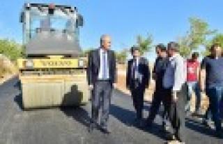 Başkan Okay; Kırsalda Yol Standartları Yükseldi