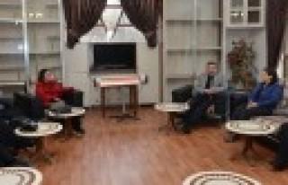 Başkan Poyraz'ın  Veda Ziyaretleri Sürüyor