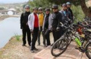 Bisikletleri İle Kahramanmaraş'ı Keşfediyorlar