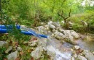 Boğazören'e Yeni İçme Suyu Kaynağı