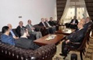 Bölge İl Müftüleri Osmaniye Valisini Ziyaret Etti