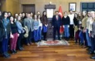 Bosnalı Öğrenciler Kahramanmaraş'ta