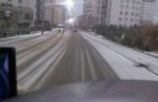 Büyükşehir Belediyesi Kış Nöbetinde