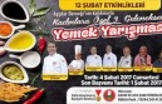Büyükşehir'den 3. Geleneksel Yemek Yarışması