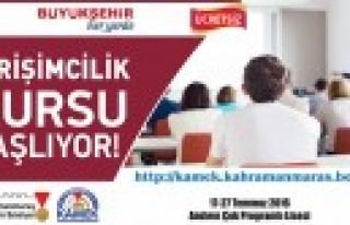 Büyükşehir'den Andırın'da Uygulamalı Girişimcilik...