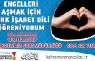 Büyükşehir'den İşaret Dili Kursu