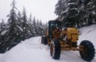 Büyükşehir'den Kar Temizleme