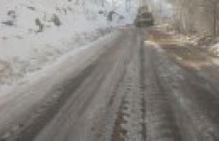 Büyükşehir'den Kar Temizliği